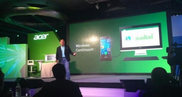 Acer evento collaborativo con Microsoft