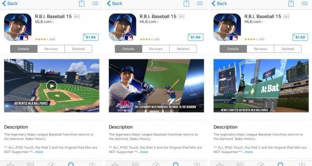 App Store adesso mostra anche le anteprime in landscape delle app