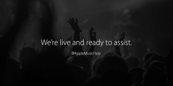Assistenza Twitter Apple Music