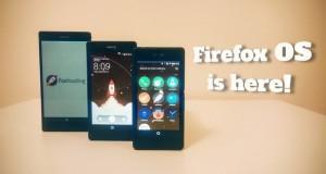 Firefox OS sui Sony Xperia