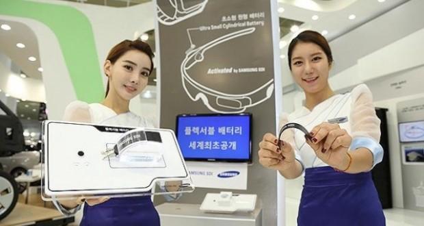 Samsung batterie flessibili