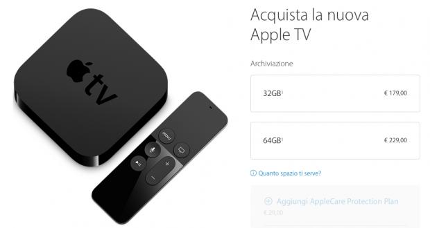 Apple TV 4° Gen