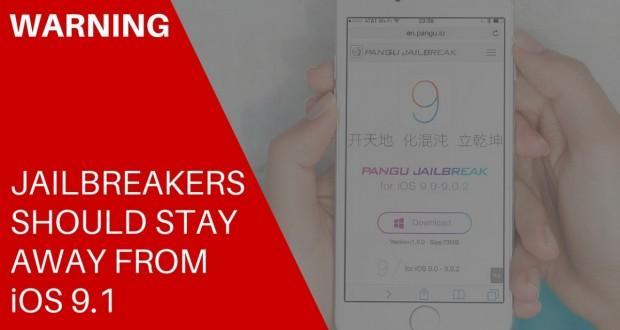 Con iOS 9.1 al momento niente jailbreak