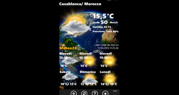 meteo 26 windows mobile