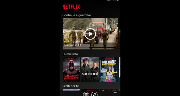 netflix windows phone windows mobile