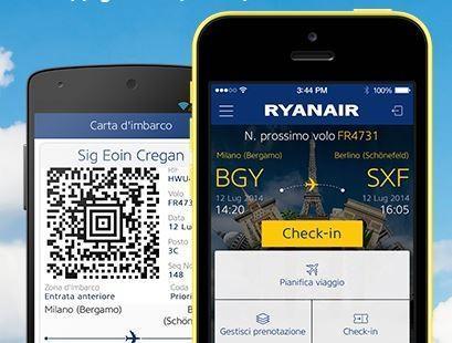 Ryanair per iOS