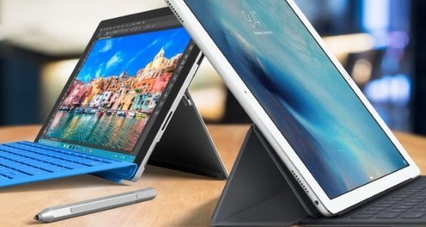 iPad Pro Surface Pro 4