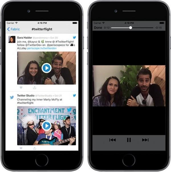 Il nuovo Twitter Kit permette di visualizzare i video a schermo intero su app di terze parti