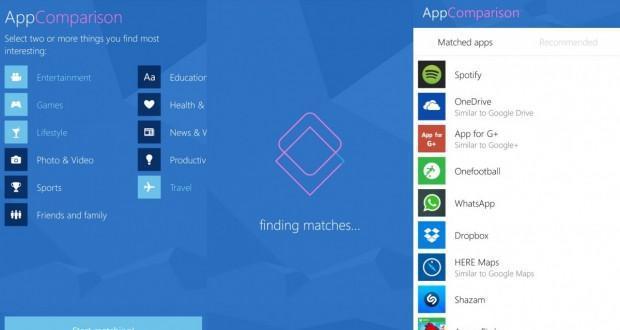Microsoft AppCompare