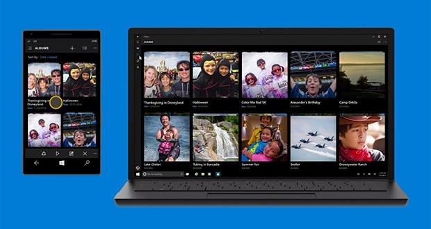 Microsoft Foto Windows 10 Mobile