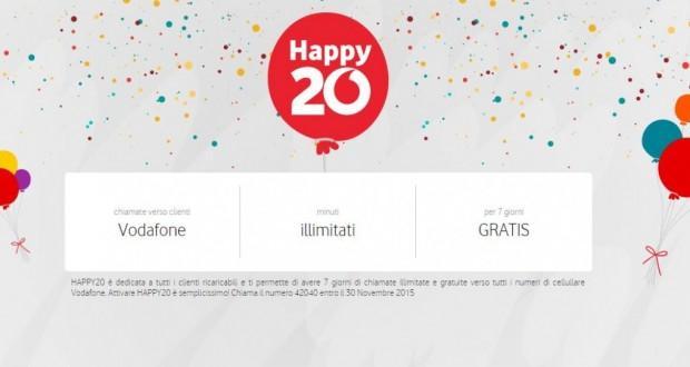 Vodafone Happy20