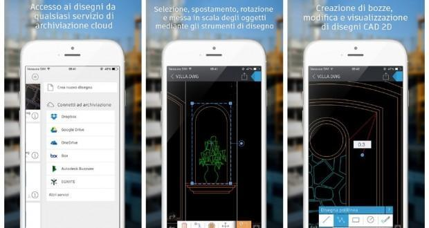 autocad 360 per iOS