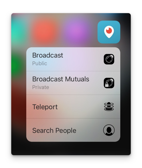 periscope 3d touch
