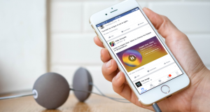Facebook Music Story iOS