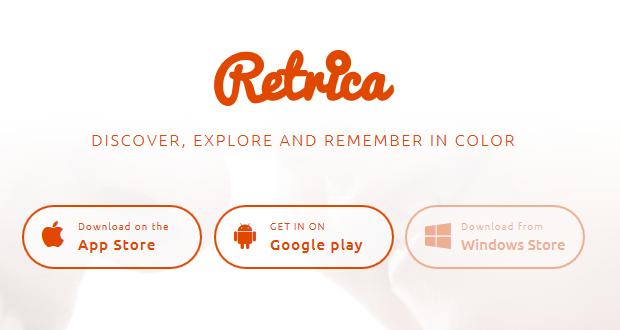 Retrica Windows Store