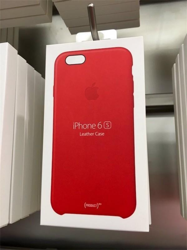 Apple rilascia le cover in pelle (PRODUCT)RED per iPhone 6s ed iPhone 6s Plus (1)