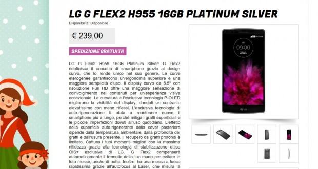 LG G Flex2 H955 16GB Platinum Silver   Gli Stockisti  Smartphone  cellulari  tablet  accessori telefonia  dual sim e tanto altro