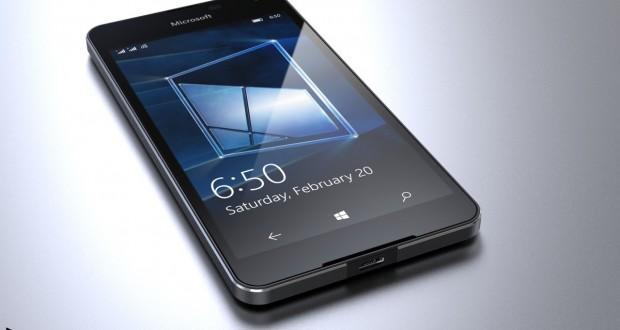 Microsoft Lumia 650 concept