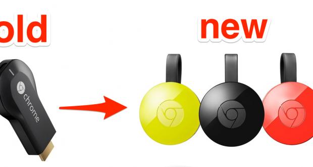 Nuova Chromecast