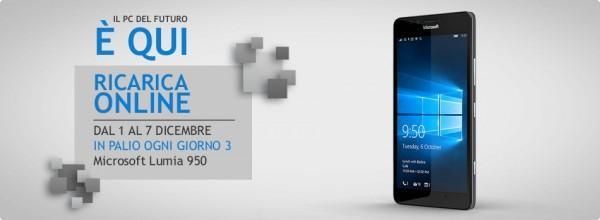 Ricarica Wind e vinci un Microsoft Lumia 950