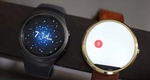 Samsung Gear S2 vs Motorola Moto 360