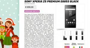 Sony Xperia Z5 Premium E6853 Black   Gli Stockisti  Smartphone  cellulari  tablet  accessori telefonia  dual sim e tanto altro