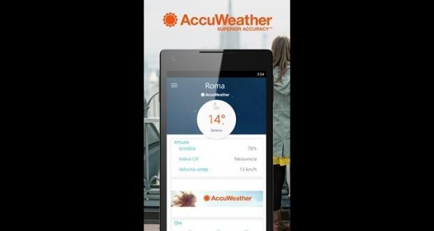 accuweather per windows phone