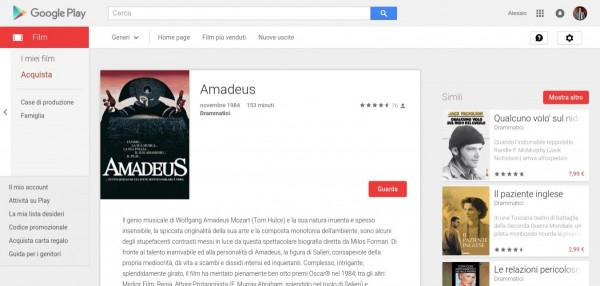 Amadeus   Film su Google Play