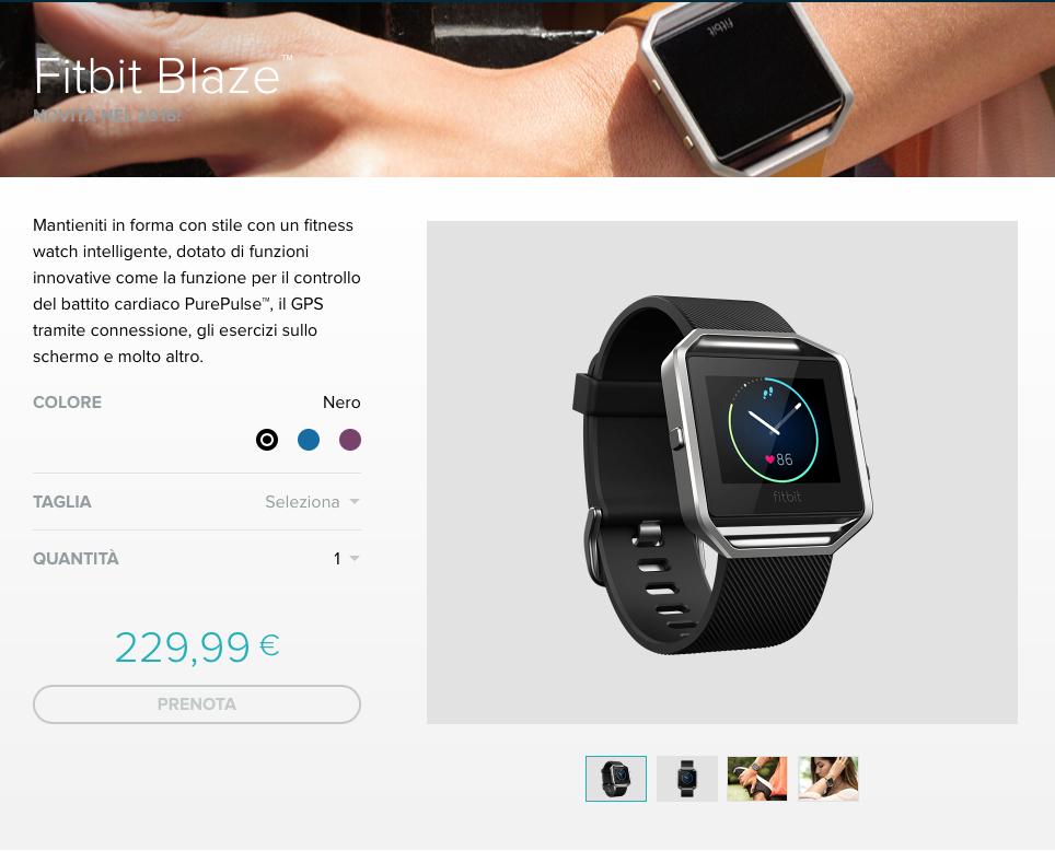 Fitbit Blaze Store 1