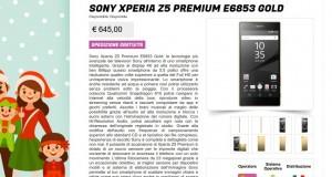 Sony Xperia Z5 Premium E6853 Gold   Gli Stockisti  Smartphone  cellulari  tablet  accessori telefonia  dual sim e tanto altro