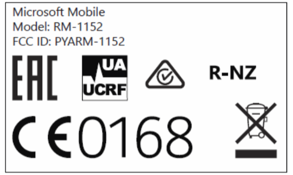 The-FCC-label-for-the-Lumia-650