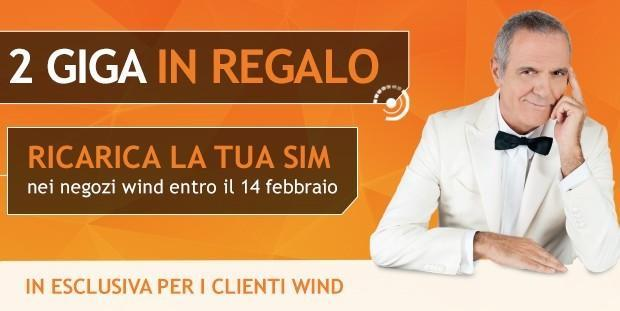Wing 2 GB in regalo