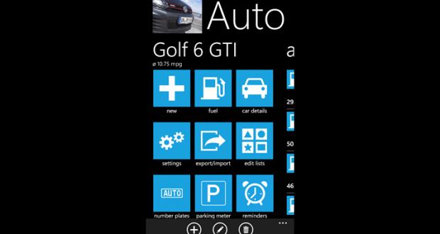 auto total windows phone