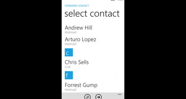 forward contact