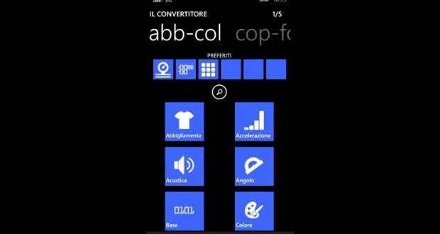 il convertitore windows phone