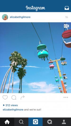 Instagram conteggio visualizzazioni video
