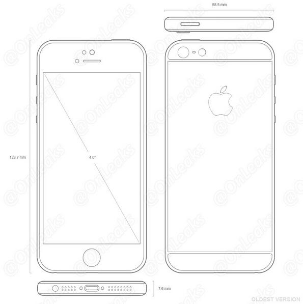 iPhone 5se prototipo