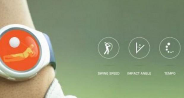 SlamdunQ Golf Samsung Gear S2