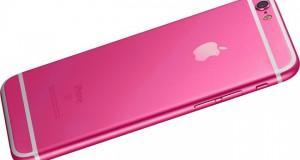 iPhone 5se hot pink