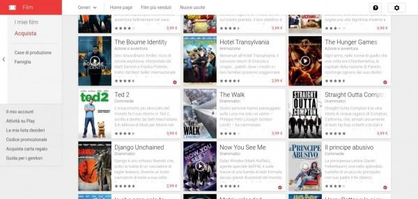 50  di sconto su un film a noleggio   Film su Google Play 2