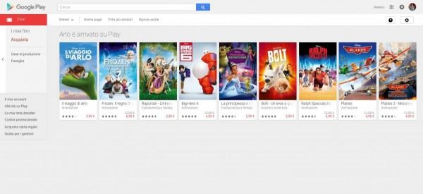 Arlo è arrivato su Play   Film su Google Play