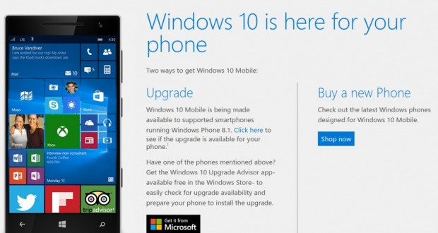 How to Upgrade to Windows 10 Mobile   Microsoft