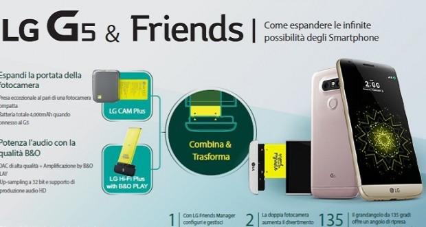 Infografica per LG G5   Friends