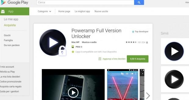 Poweramp Full Version Unlocker   App Android su Google Play