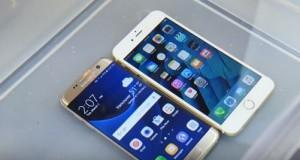 Samsung Galaxy S7 vs iPhone 6S in un test di resistenza all'acqua