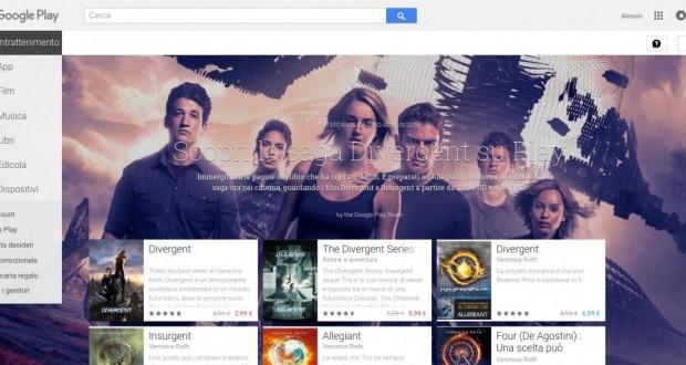 Scopri la saga Divergent su Play   Google Play