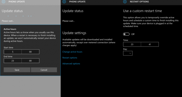 Windows Update aggiornamento Windows 10 Mobile