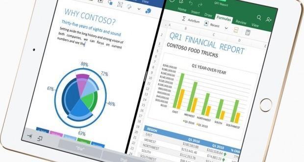 iPad Pro 9.7 Microsoft Office
