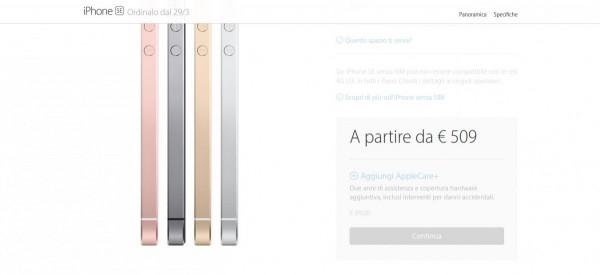iPhone SE 2  Acquista iPhone SE   Apple  IT