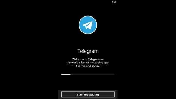 telegram windows 10 mobile